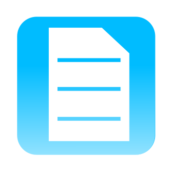 Document with ConfigSnapshot Icon